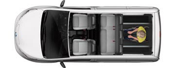 Nissan electric WAV Layout