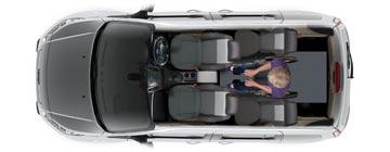 Ford Tourneo WAV layout