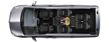 Mercedes V-Class WAV Layout