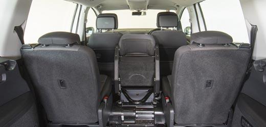 VW Sharan WAV Seats