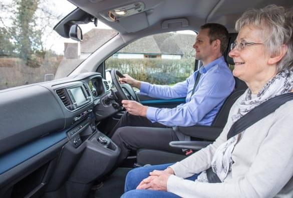 Peugeot Traveller Upfront WAV