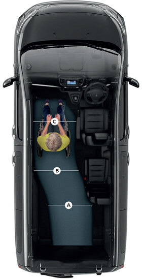 Peugeot Traveller WAV layout