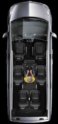 Mercedes-Benz V-Class WAV Layout