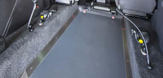 lowered floor