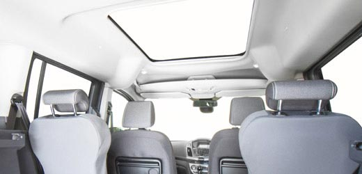 Headroom for the wheelchair user