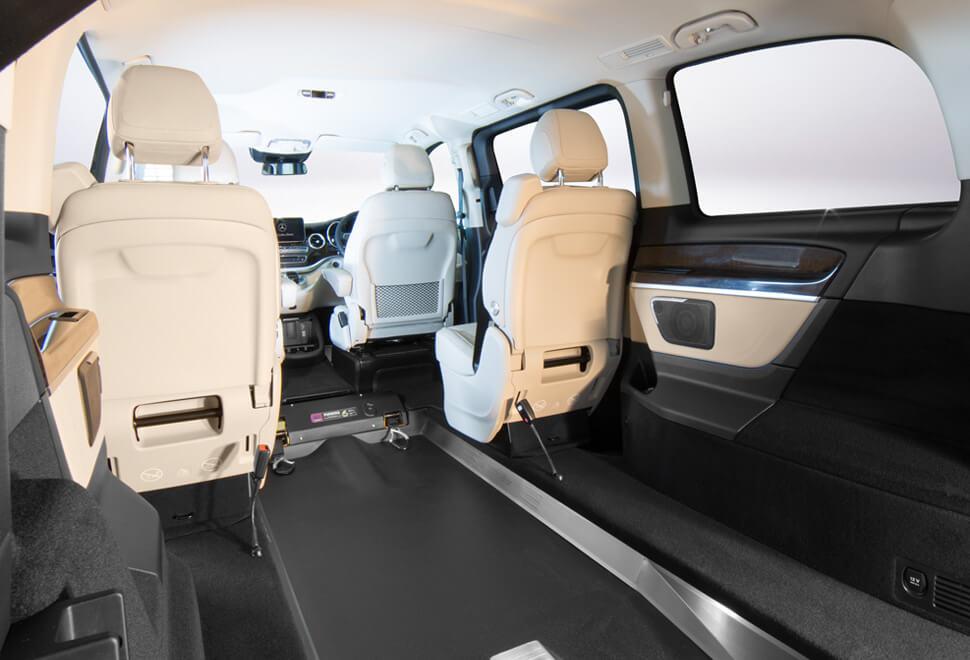 Mercedes V-Class Wheelchair Access