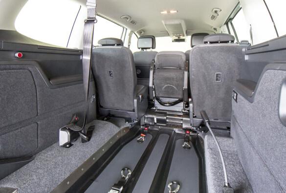 VW Sharan Wheelchair Access