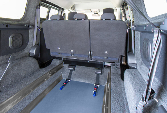 Electric wheelchair accessible vehicle