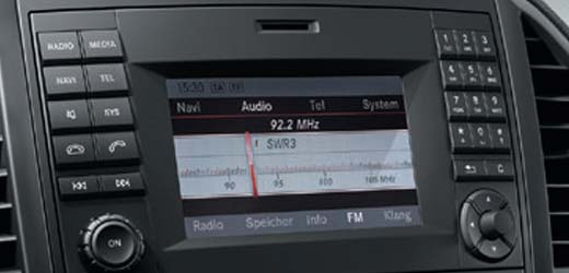 Mercedes Audio
