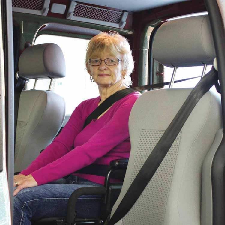 Wheelchair User Comfort in vehicle