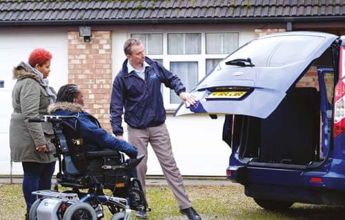 WAV Delivery on Motability