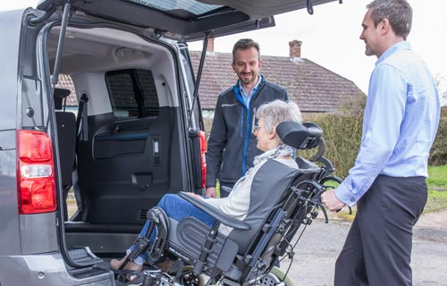 Wheelchair Accessible Vehicle Demonstration