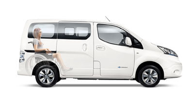 Nissan eNV200 Wheelchair Accessible Vehicle