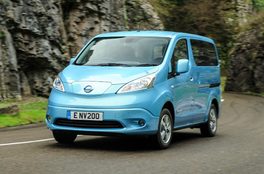 Nissan eNV200 electric Wheelchair Accessible Vehicle