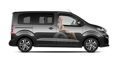 Peugeot Traveller Wheelchair Accessible Vehicle