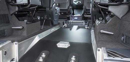 Mercedes V-Class Wheelchair Floor
