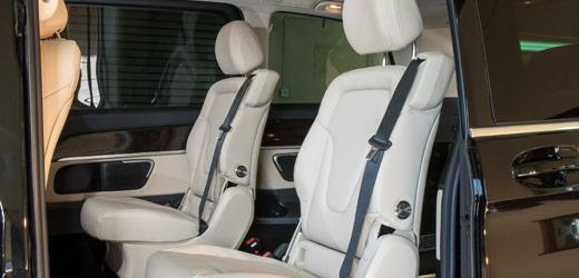 Mercedes WAV Seats