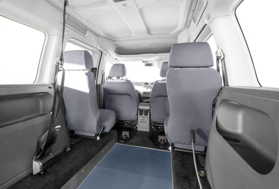 VW Caddy WAV Interior