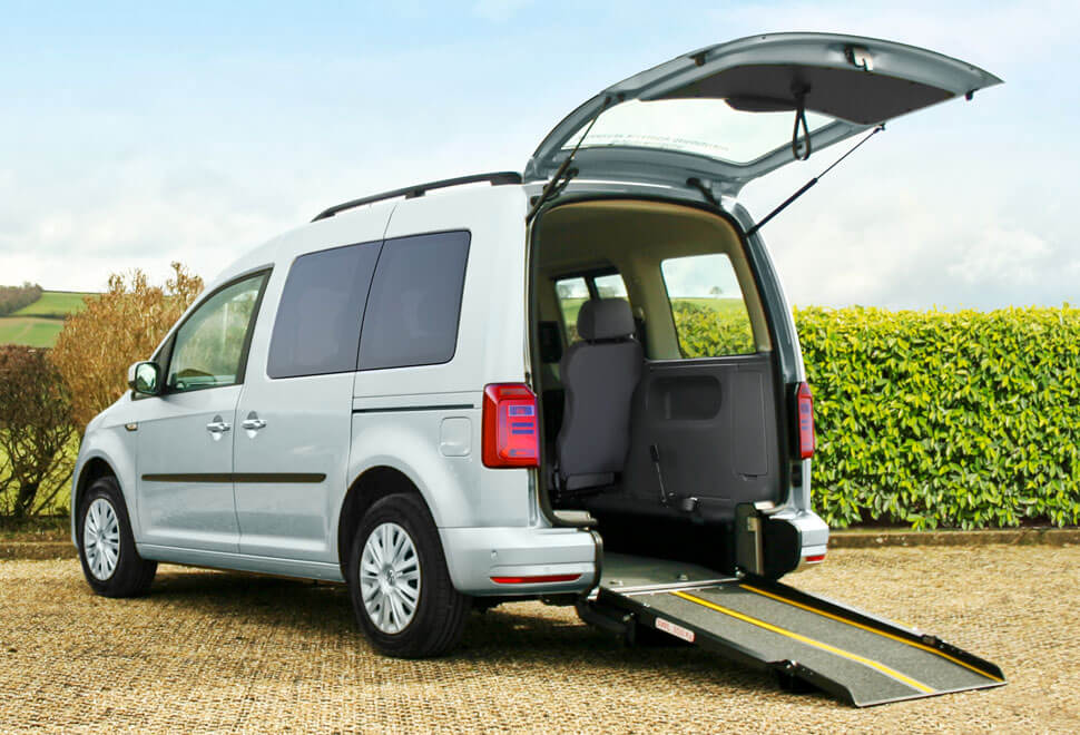 VW Caddy Life Wheelchair Accessible
