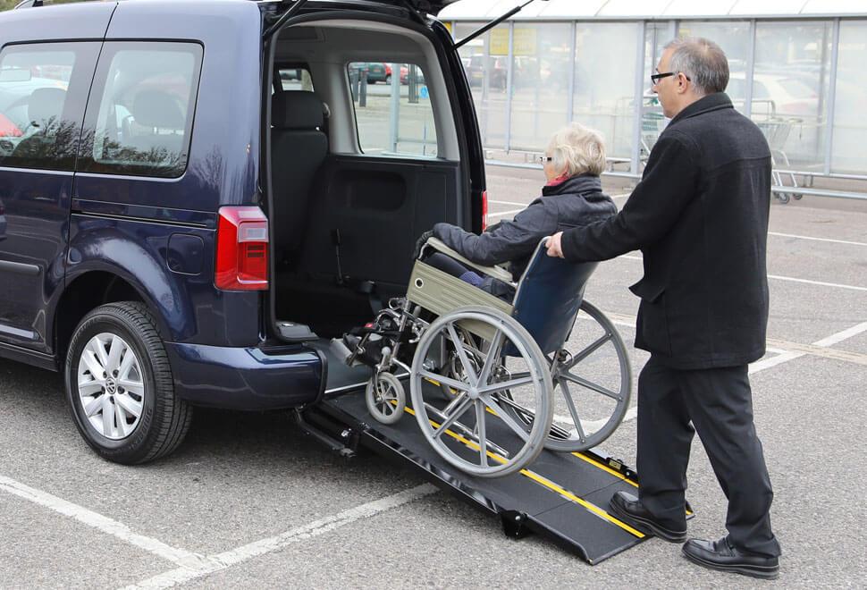VW Caddy Wheelchair Ramp