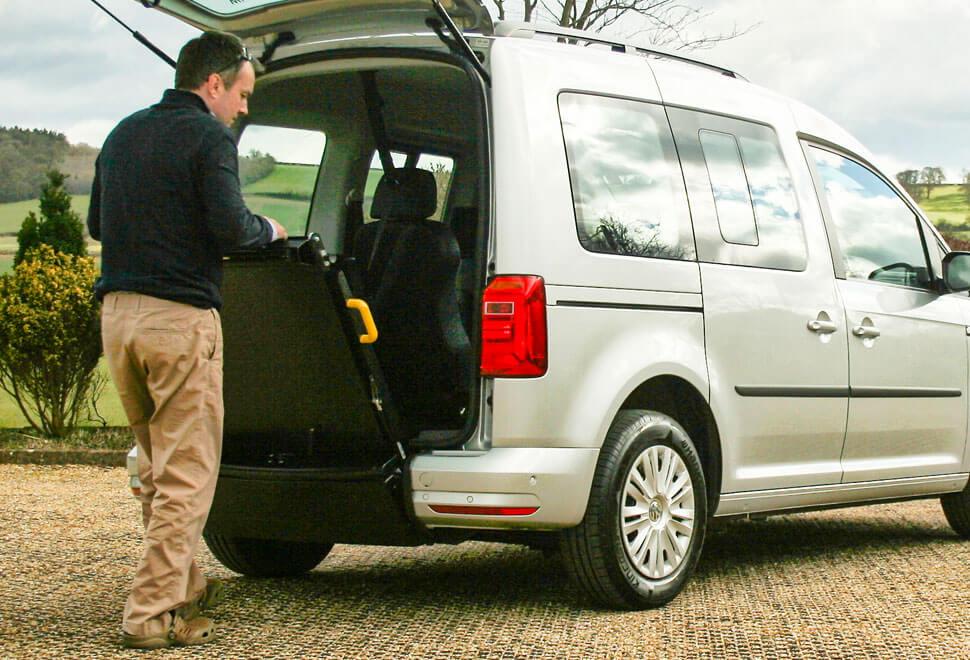 VW Caddy WAV