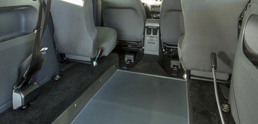 VW Caddy low floor WAV