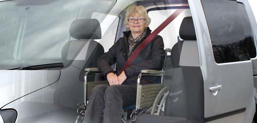 Caddy Wheelchair Access