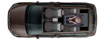 VW Caddy WAV layout