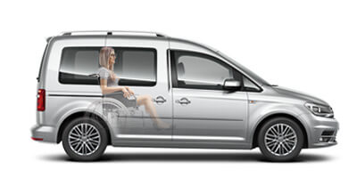 VW Caddy Wheelchair Accessible Vehicle
