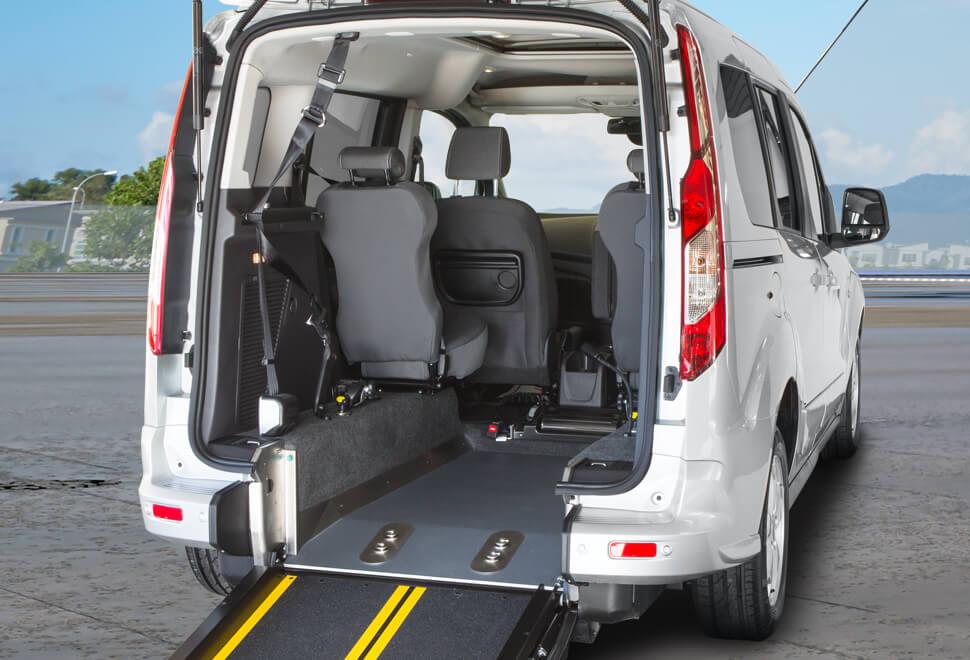 Ford Tourneo WAV Ramp