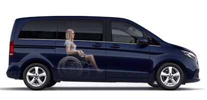 Mercedes Vito Wheelchair Accessible vehicle