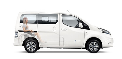 Nissan Electric Wheelchair Accessible vehicle