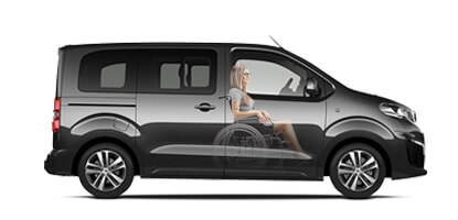 Peugeot Upfront Wheelchair Accessible vehicle