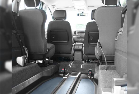 VW Sharan WAV Interior