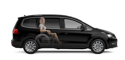 VW Sharan Wheelchair Accessible vehicle