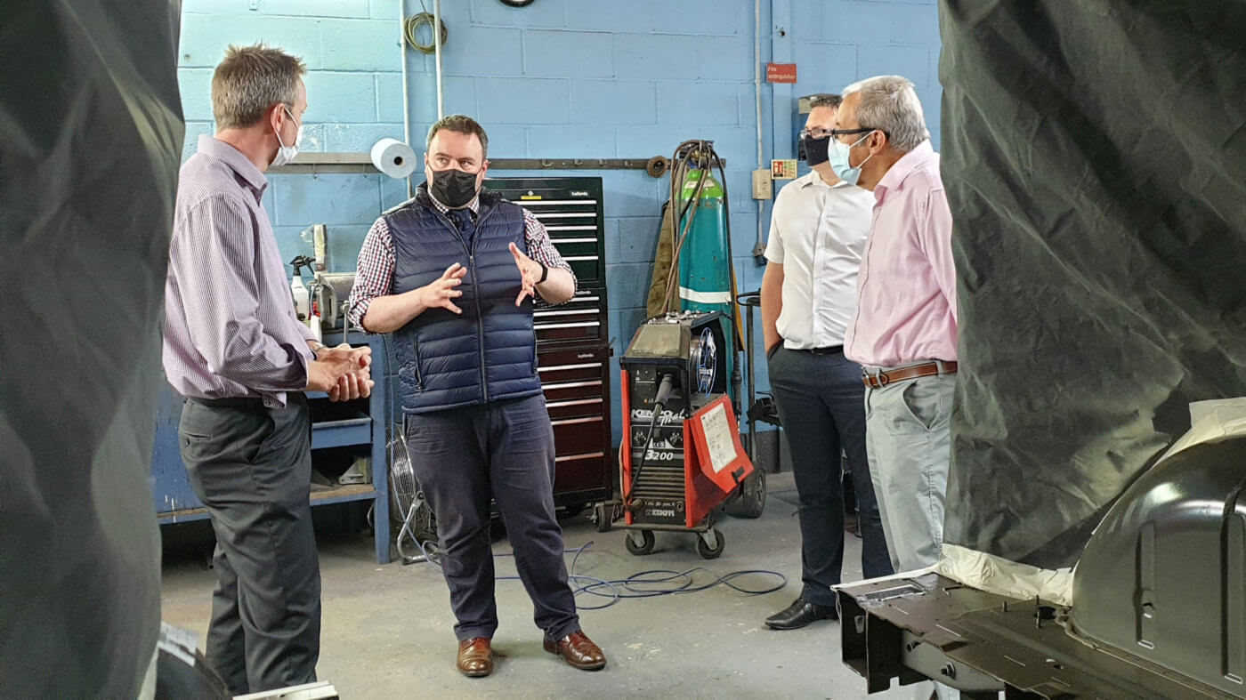 Chris Loder MP visits Brotherwood