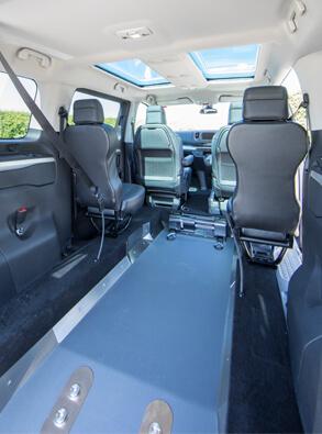 Toyota Proace WAV lowered floor