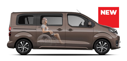 Toyota Proace Wheelchair Accessible Vehicle