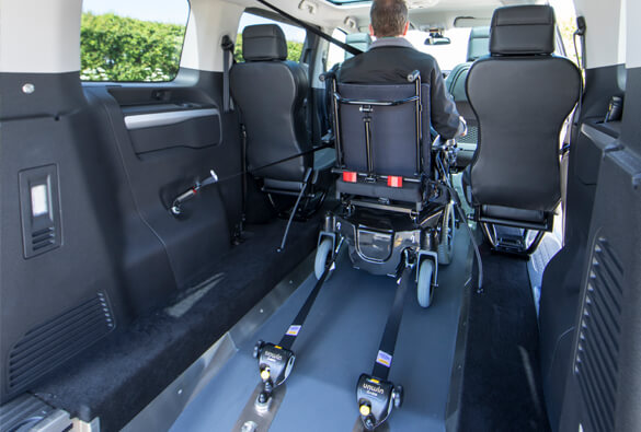 Toyota Proace Wheelchair Restraints