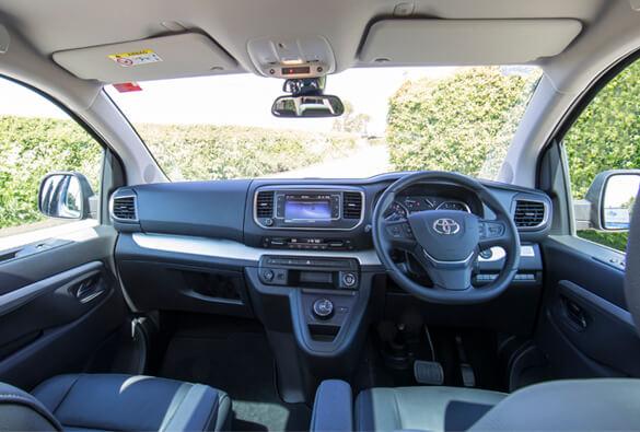 Toyota WAV Interior